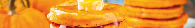Make Pumpkin Pancakes or Waffles